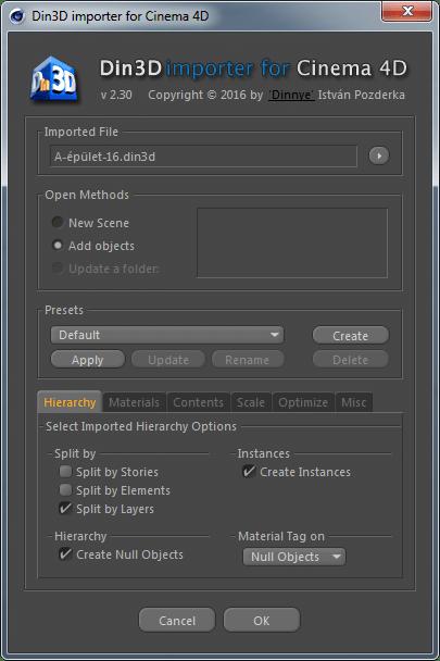 Din3D importer for C4D Archives - Din3D org