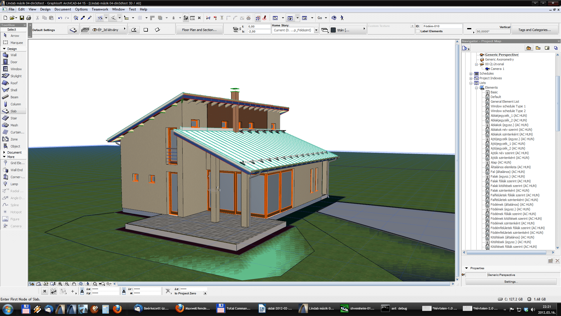 Din3D exporter for ArchiCAD - Usage 03
